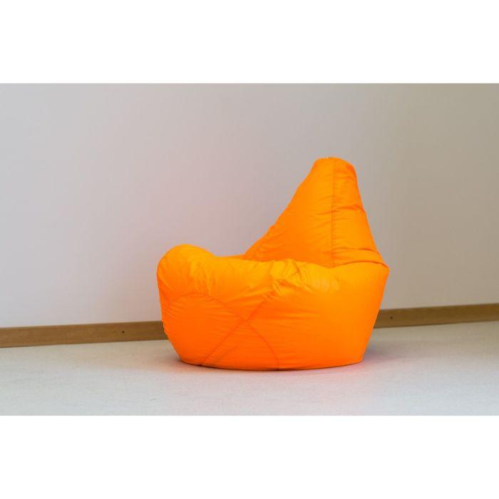 Кресло-мешок, цвет оранжевый