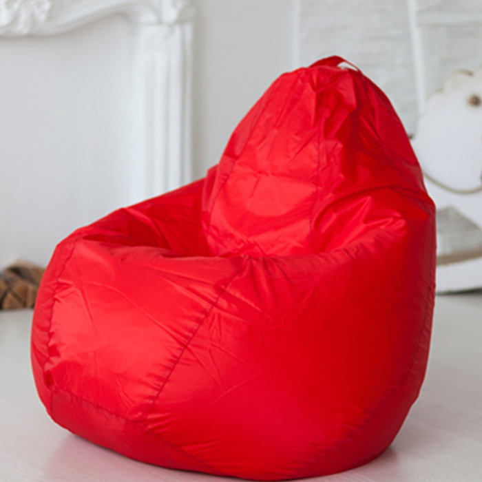 Кресло-мешок, цвет красный