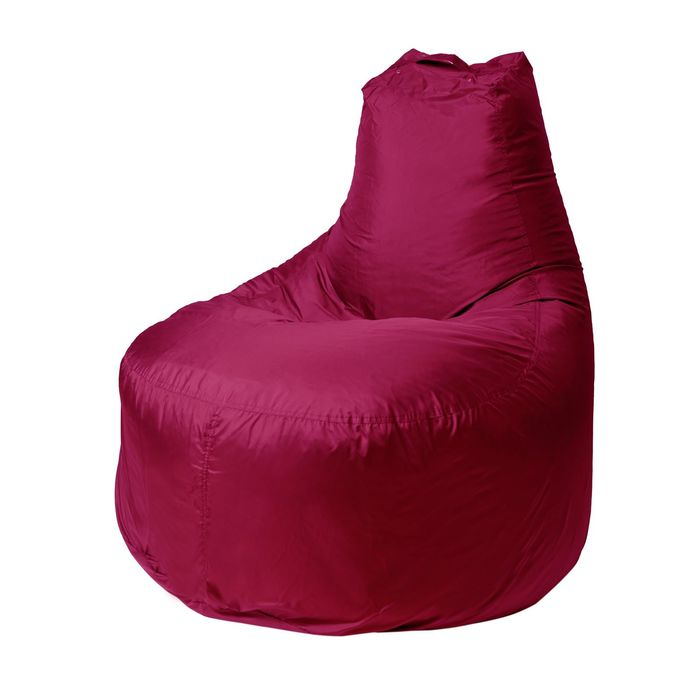 """Кресло-мешок """"Банан"""", диаметр 90 см, высота 100 см, цвет вишня File"""