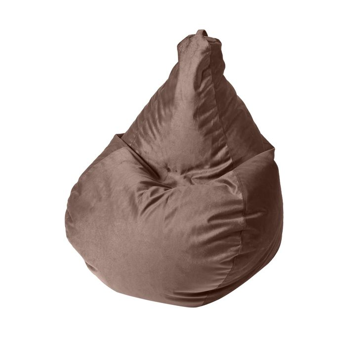 """Кресло-мешок """"Капля S"""", диметр 85 см, высота 130 см, цвет коричневый"""