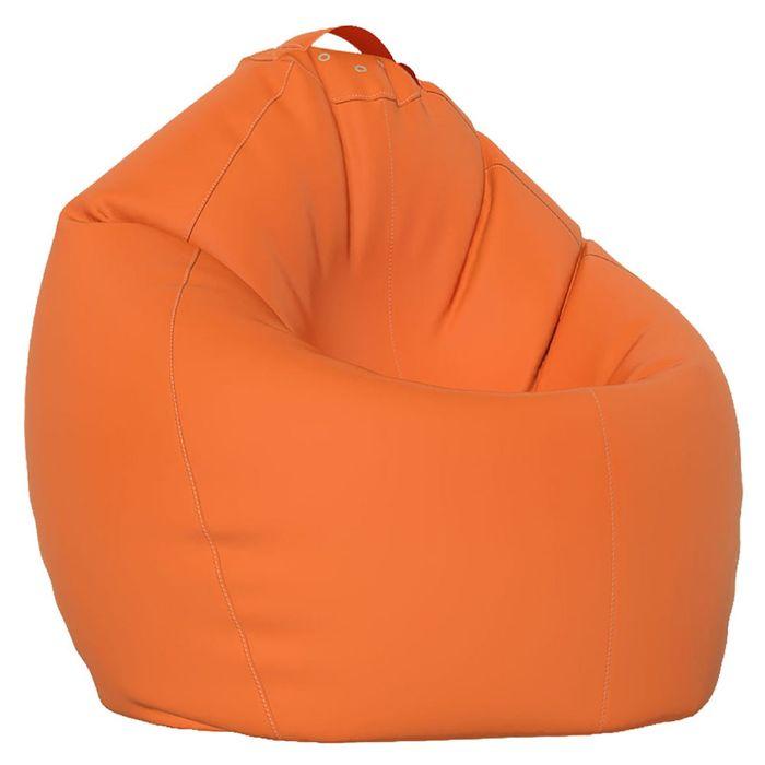 Кресло-мешок XL, ткань нейлон, цвет оранжевый