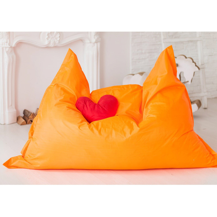Кресло-подушка, цвет оранжевый