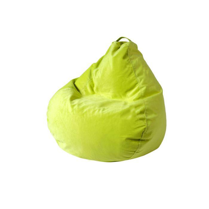 """Кресло-мешок """"Малыш"""", диаметр 70, высота 80, цвет салатовый"""