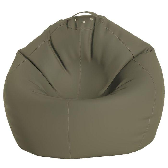 Кресло-мешок Малыш, ткань нейлон, цвет серый