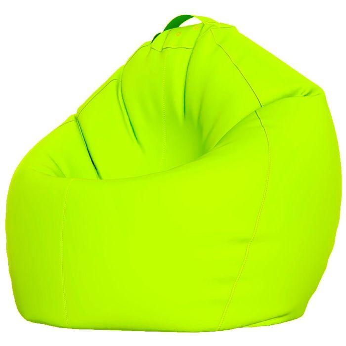 Кресло-мешок XXXL, ткань нейлон, цвет салатовый люмин