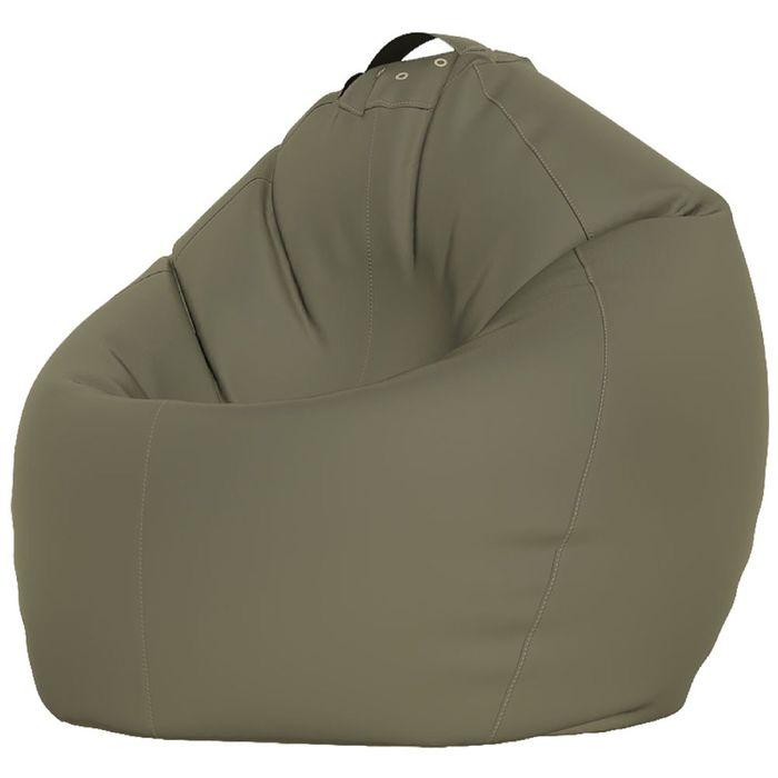 Кресло-мешок XXXL, ткань нейлон, цвет серый