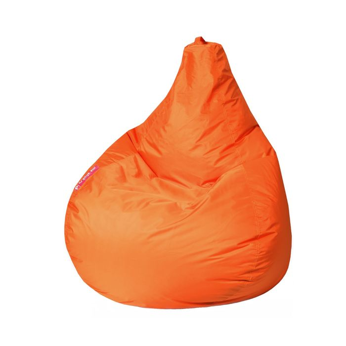"""Кресло-мешок """"Капля S"""", диметр 85 см, высота 130 см, цвет оранжевый Oxford"""
