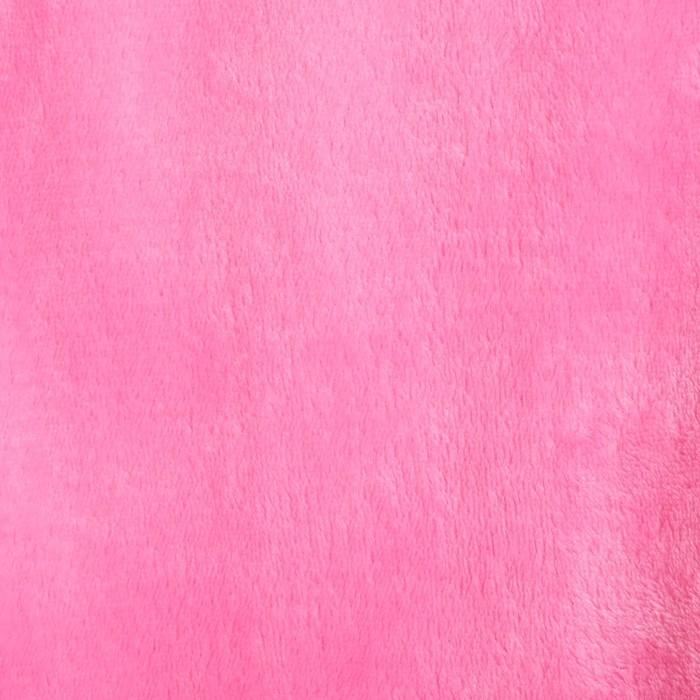 """Плед """"Этель корал"""" 1.5 сп Тёмно-розовый150*200 см, 100% п/э, корал-флис, 180 гр/м2"""