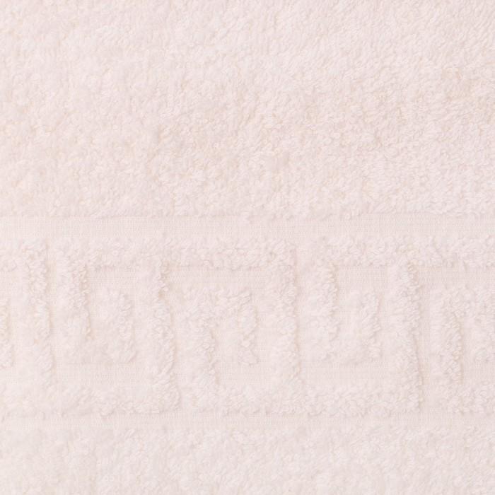 Полотенце махровое однотонное Антей цв шампань 40*70см 100% хлопок 430 гр/м2