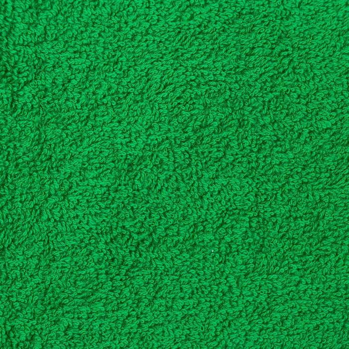 """Полотенце махровое """"Экономь и Я"""" 50*90 см зелёное яблоко, 100% хлопок, 340 г/м2"""