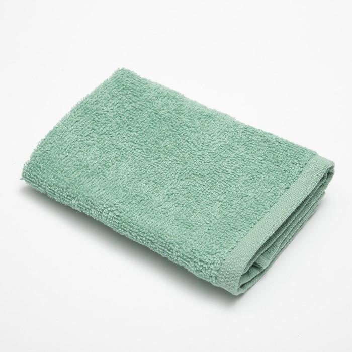 Полотенце махровое «Экономь и Я» 30×30 см эвкалипт 100% хлопок, 340 г/м²