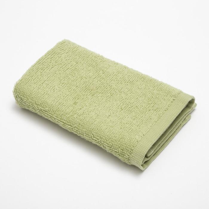 Полотенце махровое «Экономь и Я» 30×30 см зелень 100% хлопок, 340 г/м²