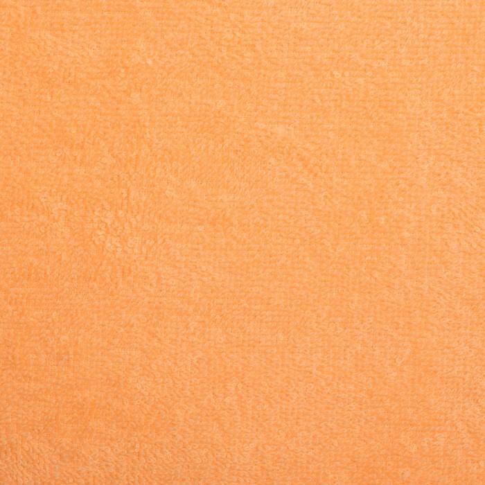 """Полотенце махровое """"Экономь и Я"""" 30х60 см, персик 100% хлопок, 340 г/м²"""