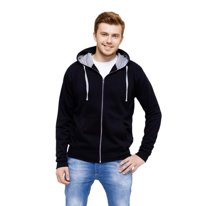 Толстовка мужская StanCool, размер 46, цвет чёрный 260 г/м