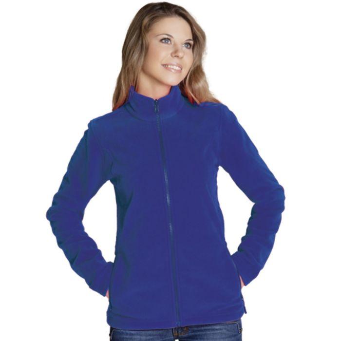 Толстовка женская StanSoft, размер 44, цвет синий 200 г/м