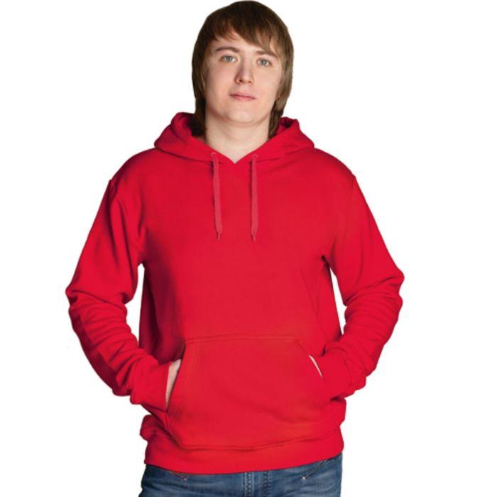 Толстовка мужская StanFreedom, размер 46, цвет красный 280 г/м