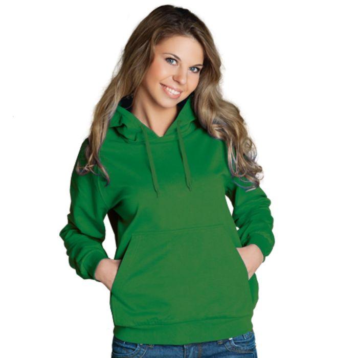 Толстовка женская StanFreedom, размер 42, цвет зелёный 280 г/м
