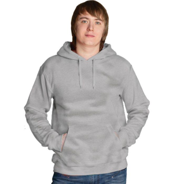 Толстовка мужская StanFreedom, размер 48, цвет серый меланж 280 г/м