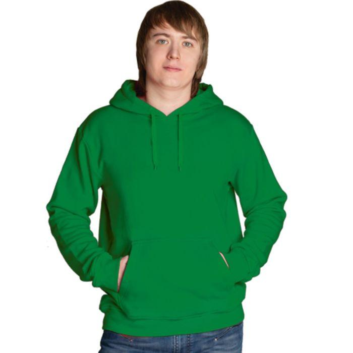 Толстовка мужская StanFreedom, размер 48, цвет зелёный 280 г/м