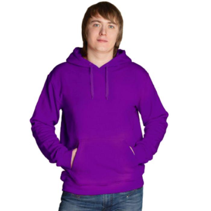 Толстовка мужская StanFreedom, размер 48, цвет фиолетовый 280 г/м