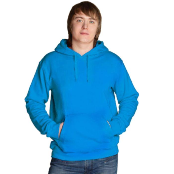 Толстовка мужская StanFreedom, размер 48, цвет лазурный 280 г/м
