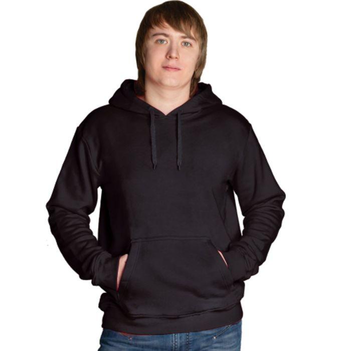 Толстовка мужская StanFreedom, размер 52, цвет чёрный 280 г/м