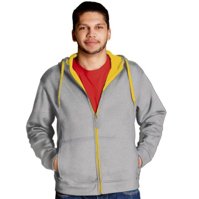 Толстовка мужская StanWinner, размер 48, цвет серый меланж 320 г/м