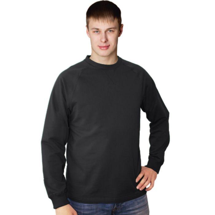 Толстовка мужская StanWork, размер 48, цвет чёрный 220 г/м