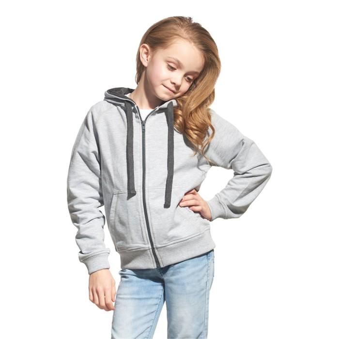 Толстовка детская StanCoolJunior, рост 152 см, цвет серый
