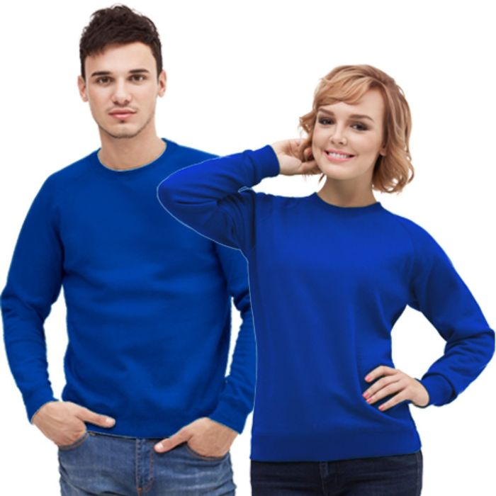 Толстовка муж/жен StanSweatshirt, размер 46, цвет синий 280 г/м