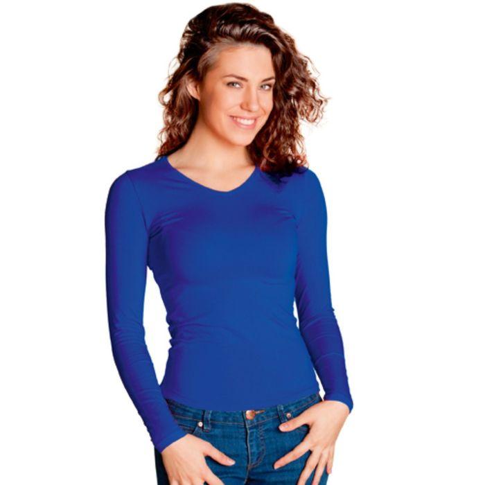 Футболка женская StanFashion, размер 46, цвет синий 180 г/м