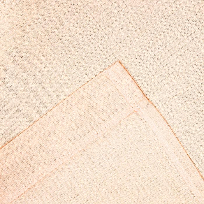 Халат вафельный запашной женский р-р 46, цв.Персик, 160 гр/м,Хл.100%