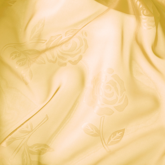 Штора вуаль с тиснением МИКС 280х260 см, цв. св.желтый, пэ 100%
