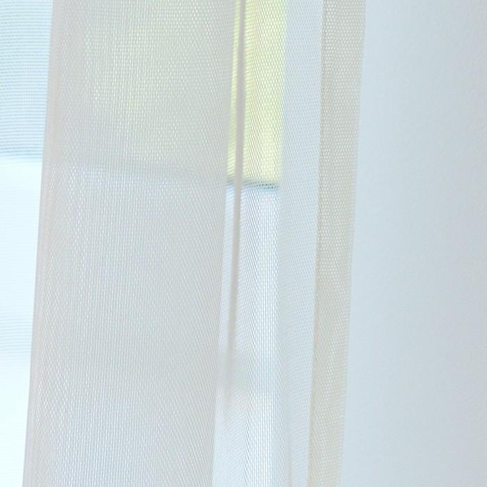 Тюль Hohmann, размер 300х270 см, цвет шампань, шторная лента