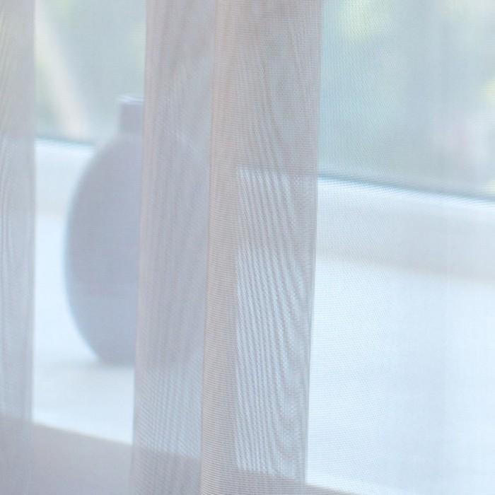 Тюль Hohmann, размер 300х270 см, цвет бежевый, шторная лента