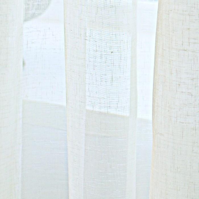 Тюль Natali, размер 500х270 см, цвет шампань, шторная лента