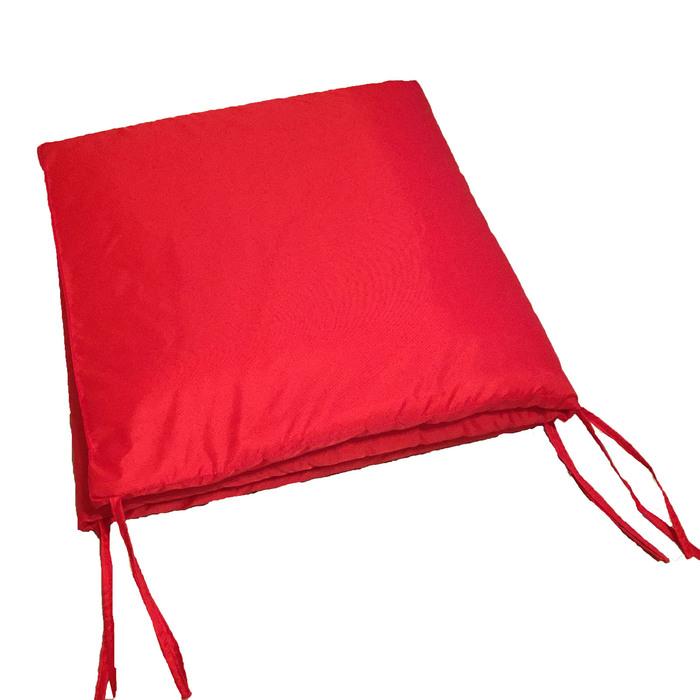 Подушка-матрас водоотталкивающ. 192х60х5 см, оксфорд 100% пэ, красный, синтетич. волокно