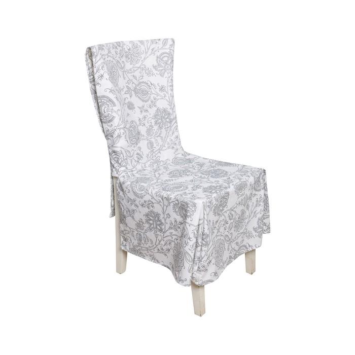 Чехол на стул «Белое золото»