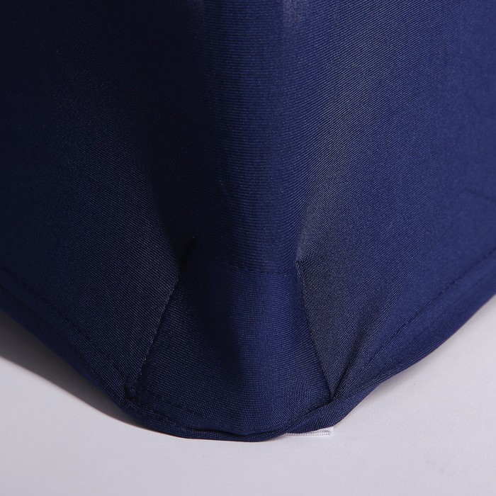 Чехол свадебный на стул, тёмно- синий
