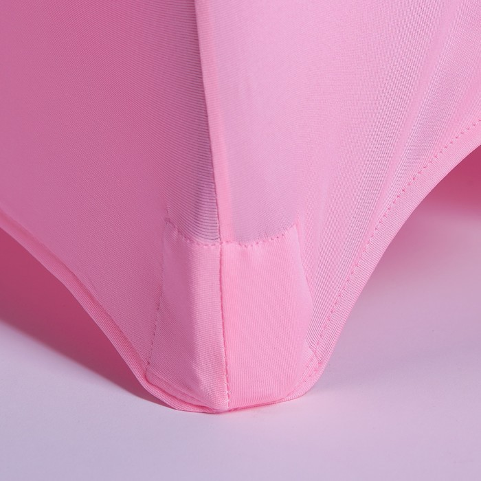 Чехол свадебный на стул, розовый