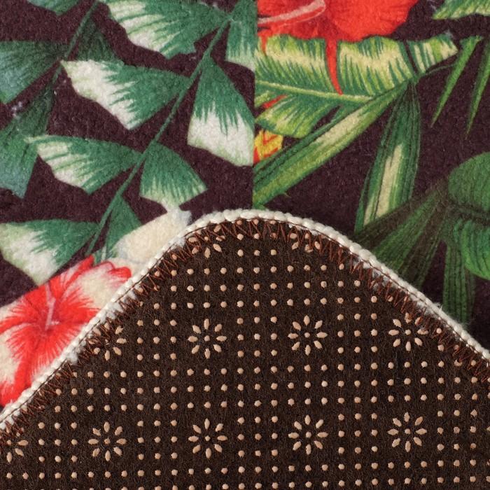 Ковёр «Этель» Тропики 40×60 см, 100% п/э