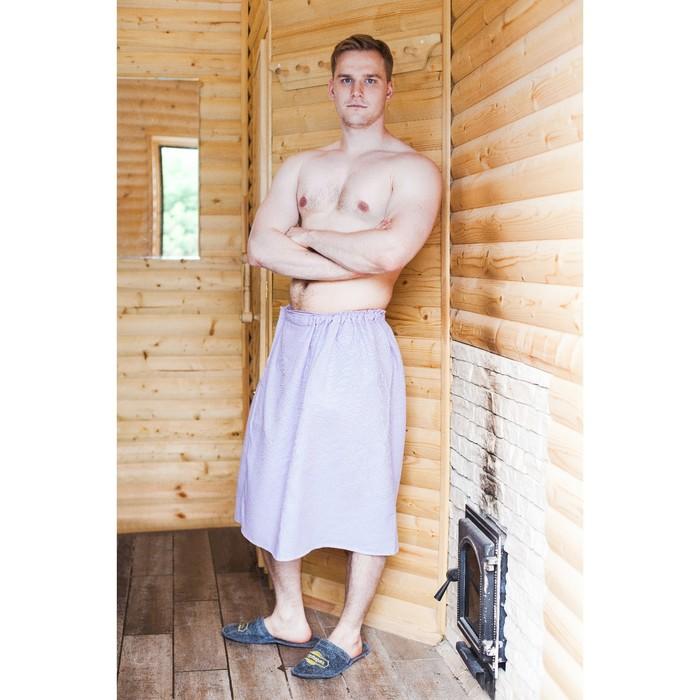 """Килт для бани и сауны """"Добропаровъ"""", мужской, хлопковый, однотонный, микс"""