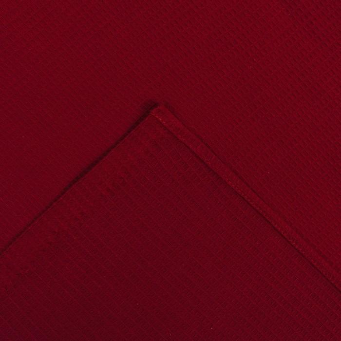 Килт для сауны муж (65х150), цв.вишня, ваф.полотно 160г/м, хл100%