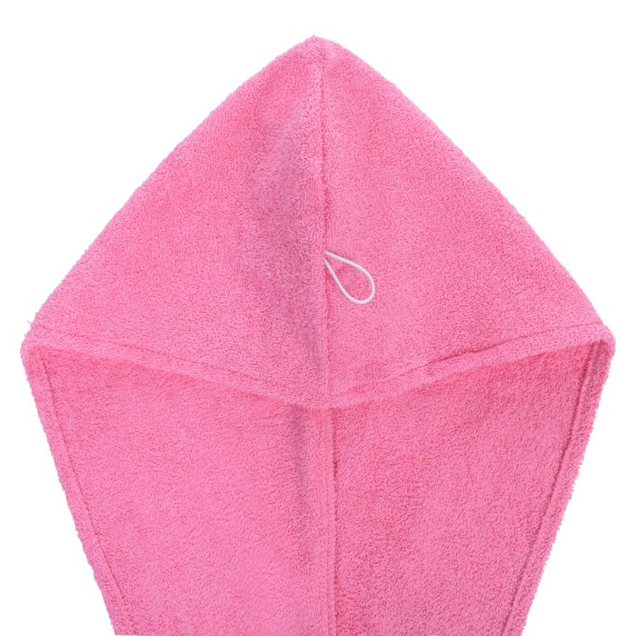 Набор д/сауны махр. жен (Килт(юбка)80х140 чалма, рукавица), цв.розовый, 300г/м, хл100%