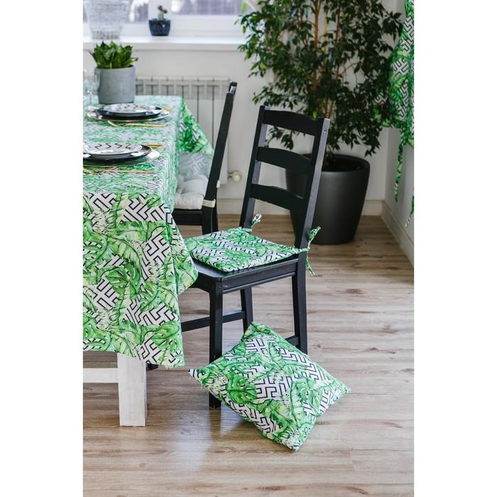 Подушка на стул Этель «Геометрия» 32×32 см, репс, пл. 130 г/м², 100% хлопок
