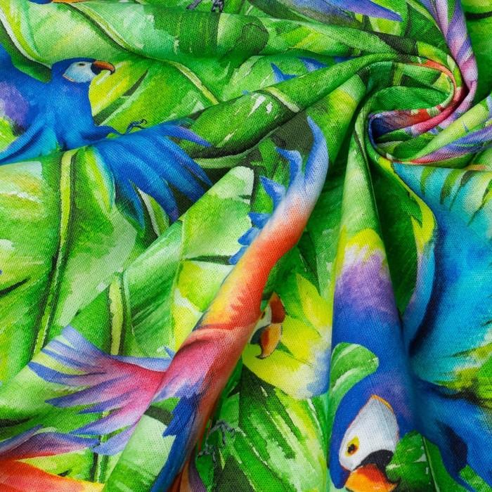Скатерть Этель «Попугай», 150×220 см, репс, пл. 130 г/м², 100% хлопок