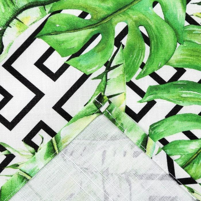 Скатерть Этель «Геометрия» 150×280 см, репс, пл. 130 г/м², 100% хлопок