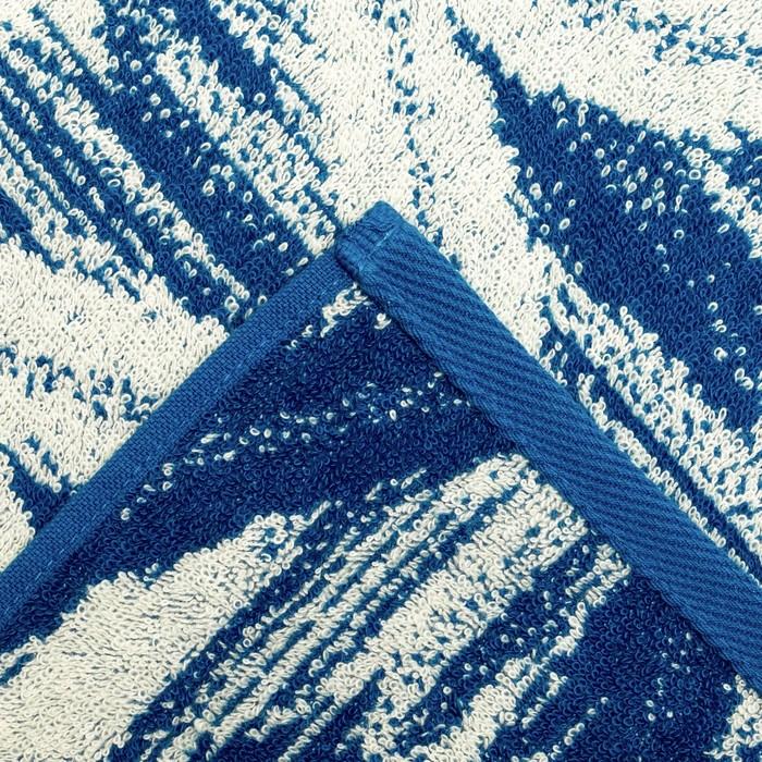 "Полотенце махровое ""Этель"" Геометрия 70х130 см, 100% хл, 420 гр/м2"