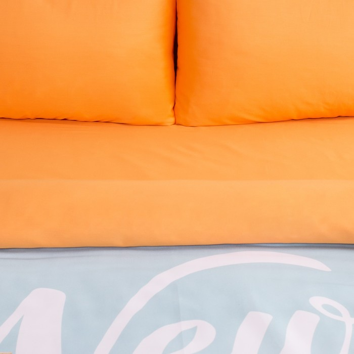"Постельное бельё ""Этель"" 1.5 сп Нью-Йорк 143х215см, 160х240 см, 50х70 см - 2 шт, мако-сатин"