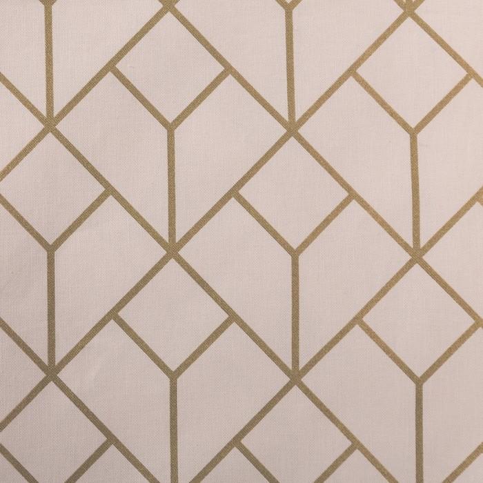 Портьера для террасы «Этель» Сетка, 200×210 см, репс с пропиткой ВМГО, 100% хлопок